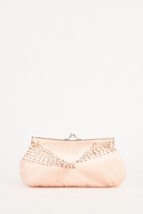 Beaded Embellished Clutch Bag