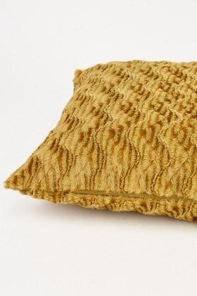 Zig Zag Patterned Cushion Cover
