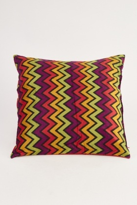 Zig Zag Pattern Cushion Cover