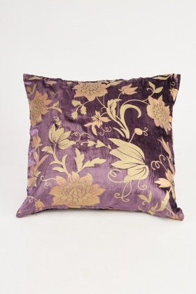 Floral Vintage Print Cushion Cover