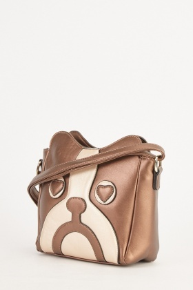 Pug Face Cross Body Bag