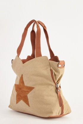 Star Patch Textured Bag