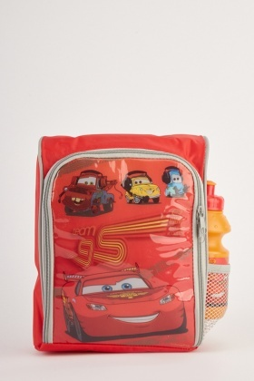 Cars Theme Lunch Backpack