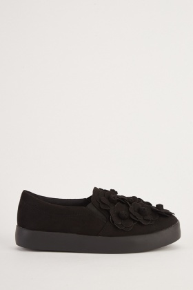 info for 5e54d 005c6 3d-flower-platform-plimsolls-black-110513-5.jpg