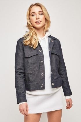 c69e66b8699 Long Sleeve Lightweight Denim Jacket - Just £5