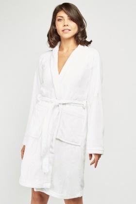 776513524ba3c Belted Super Soft Fleece Dressing Gown - 3 Colours - Just £5