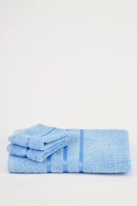 Set Of 3 Classic Towels