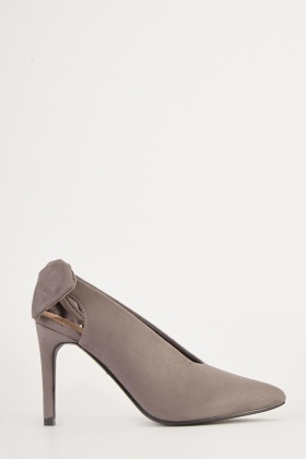 87f5e0ecefac Suedette Slingback Heels