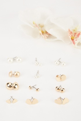 12 Pairs Of Earrings