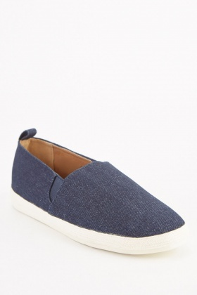 Men's Denim Style Espadrilles