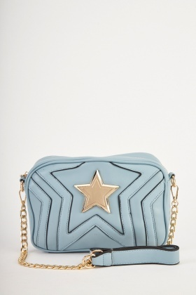 Star Patterned Shoulder Bag