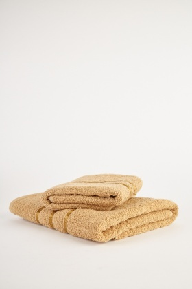 Hand Towel And Bath Towel Set