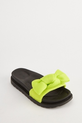 Perforated Mesh Bow Sliders