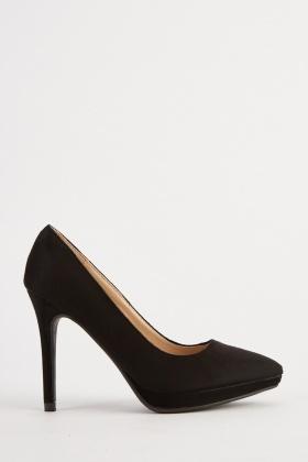 1937537b0cf9 Suedette High Heels