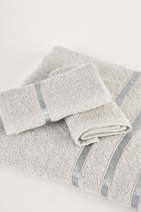 Bath Towel And Fannel Set