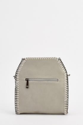 e471b180d9ed Chain Trim Fringed Cross Body Bag - Just £5