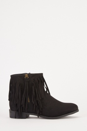 Tassel Trim Ankle Boots aed51709bb