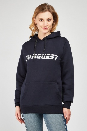 Logo Front Hoodie