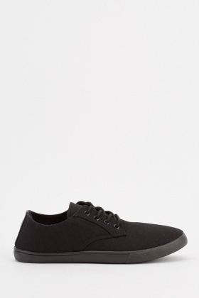 Mens Low Top Plimsolls