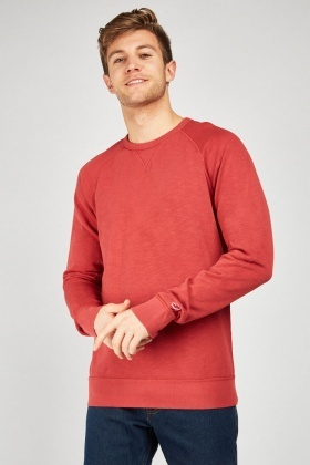 Plain Raglan Sleeve Jumper