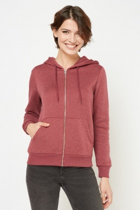Twin Pocket Front Casual Hoodie