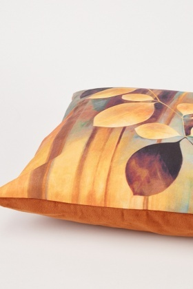 Multi-Tonal Printed Cushion