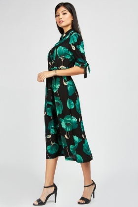Zibi London Floral Shirt Dress