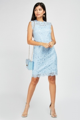 Zibi London Lace Midi Dress
