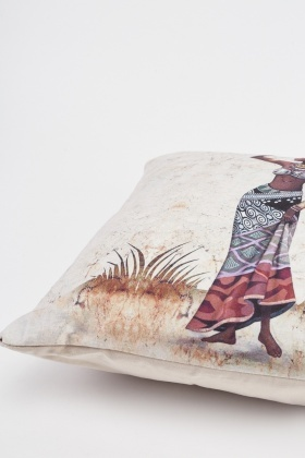 African Tribal Printed Cushion