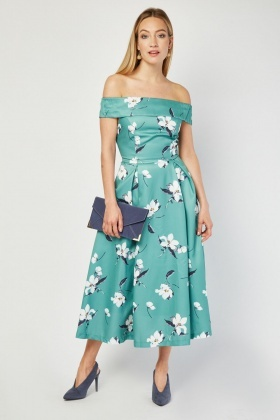 Jolie Moi Maxi Frilly Dress