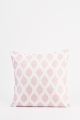 Patterned All Over Printed Cushion