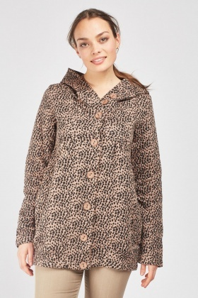 Speckled Diamond Stitched Jacket