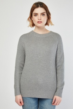 Tie Up Back Knit Jumper