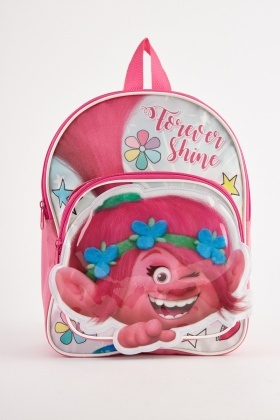 Hi-Shine Trolls Themed Backpack