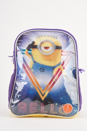 Minion Themed Backpack