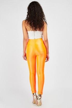 Neon Skinny Fit Trousers