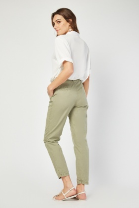 Tapered Fit Basic Chinos