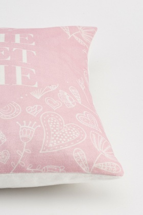 Mixed Print Cushion