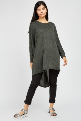 Slouchy Batwing Sleeve Top