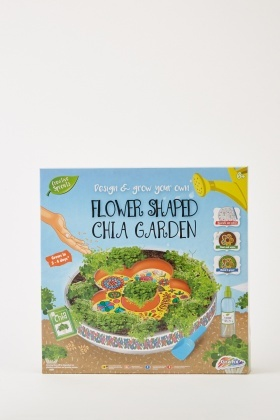 Flower Shaped Chia Garden Set