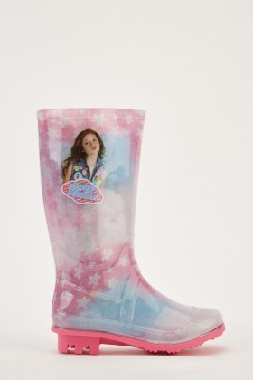 Girls Ombre Rain Boots