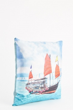 Ship Printed Cushion