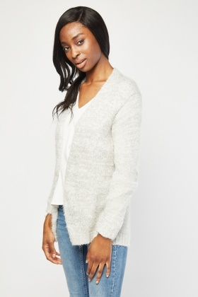 Knitted Speckled Cardigan