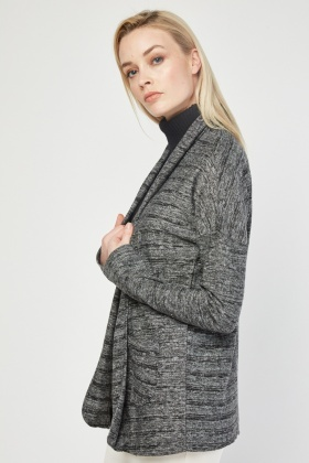 Long Sleeve Speckled Cardigan