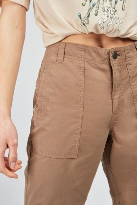Chino Style Cargo Pants