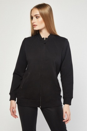 Zip Up Casual Jacket
