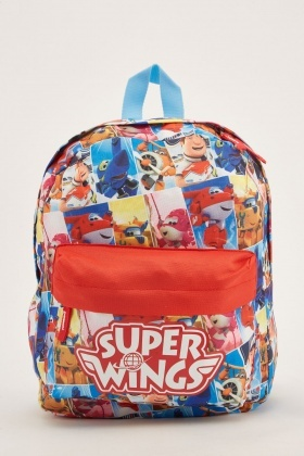 Super Wings Kids Backpack