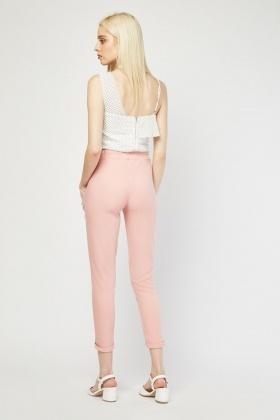 Tapered Style Trousers