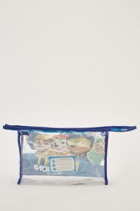 Set Of 5 Kids Night Vision Travel Bag