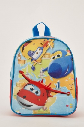 Super Wings Themed Backpack
